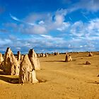 Pinnacles Desert - Nambung National Park, Western Australia by Renee Hubbard Fine Art Photography