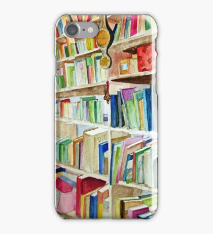 Bookcase iPhone Case/Skin