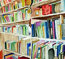 Bookcase by rosiehn1