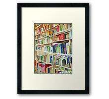 Bookcase Framed Print