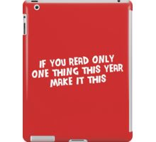 If You Read Only One Thing This Year, Make It This iPad Case/Skin
