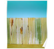 Corrugated Wall Poster