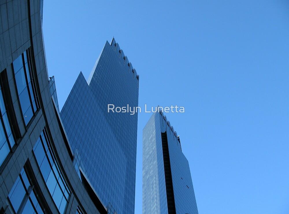 Time Warner Building by Roslyn Lunetta