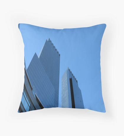 Time Warner Building Throw Pillow