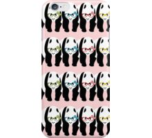 Panda Wearing Glasses iPhone Case/Skin