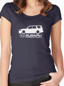 SubaruForester.org - SG9 Love Women's Fitted Scoop T-Shirt