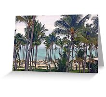 Punta Cana Greeting Card