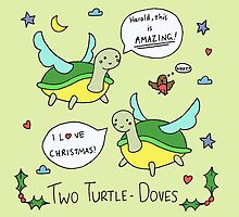 Two Turtle Doves by RedPandonite