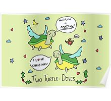 Two Turtle Doves Poster