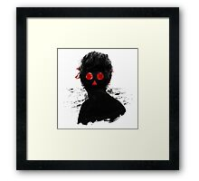 Fly Nose Red Eyes Framed Print