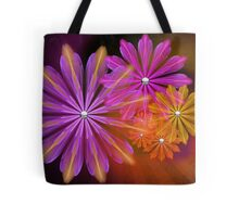 Sunset Foral Tote Bag