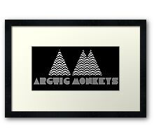 Arctic Monkeys. AM. Framed Print