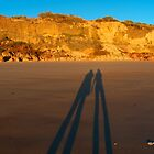 Shadow Friends at Eco Beach by Renee Hubbard Fine Art Photography