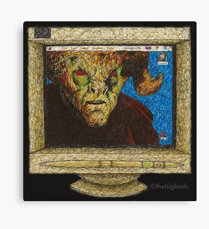 I, Robot... You, Jane - Malcolm/Moloch - BtVS Canvas Print