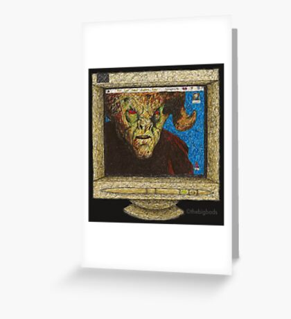 I, Robot... You, Jane - Malcolm/Moloch - BtVS Greeting Card