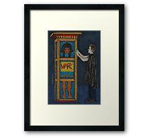Puppet Show - Marc - BtVS Framed Print