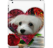 Snowdrop the Maltese iPad Case/Skin