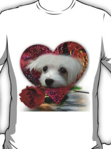 Snowdrop the Maltese T-Shirt