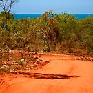The red road to Cygnet Bay - Dampier Peninsula by Renee Hubbard Fine Art Photography