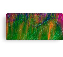 Psychedelic Grass Canvas Print