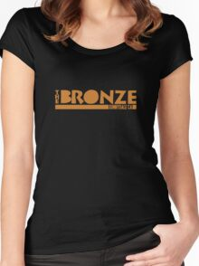 The Bronze, Sunnydale, CA Women's Fitted Scoop T-Shirt