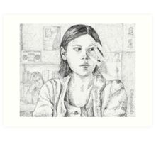 Out of Mind, Out of Sight - Marcie - BtVS Art Print