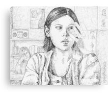 Out of Mind, Out of Sight - Marcie - BtVS Metal Print