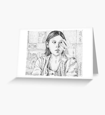 Out of Mind, Out of Sight - Marcie - BtVS Greeting Card