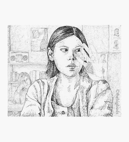 Out of Mind, Out of Sight - Marcie - BtVS Photographic Print