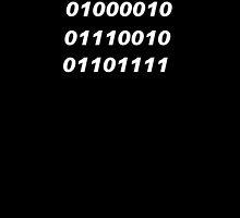 Bro Binary Shirt Design by TeamPineapple
