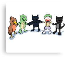 Batty and Friends Canvas Print