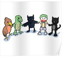 Batty and Friends Poster