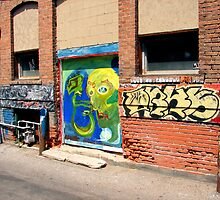 Alley Art Octapus by Despot