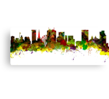 Birmingham  City  UK Skyline Canvas Print