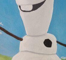 Disney's Frozen Olaf Sticker