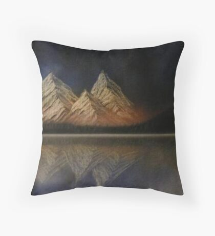 Personal Reflection Throw Pillow