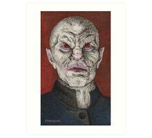 Prophecy Girl - The Master - BtVS Art Print