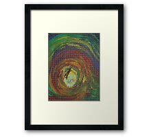 Epiphany (Oils with Wire Mesh)- Framed Print