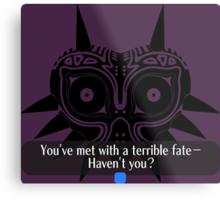 Legend of Zelda - Majora's Mask: Terrible Fate Metal Print