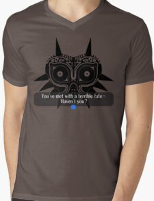 Legend of Zelda - Majora's Mask: Terrible Fate Mens V-Neck T-Shirt