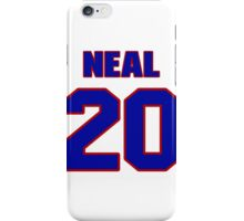 National football player Leon Neal jersey 20 iPhone Case/Skin