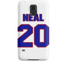 National football player Leon Neal jersey 20 Samsung Galaxy Case/Skin