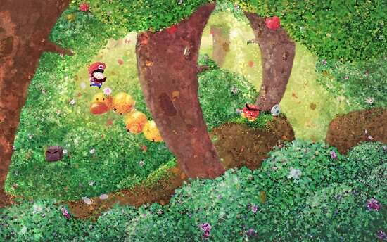 Forêt en fleur by orioto
