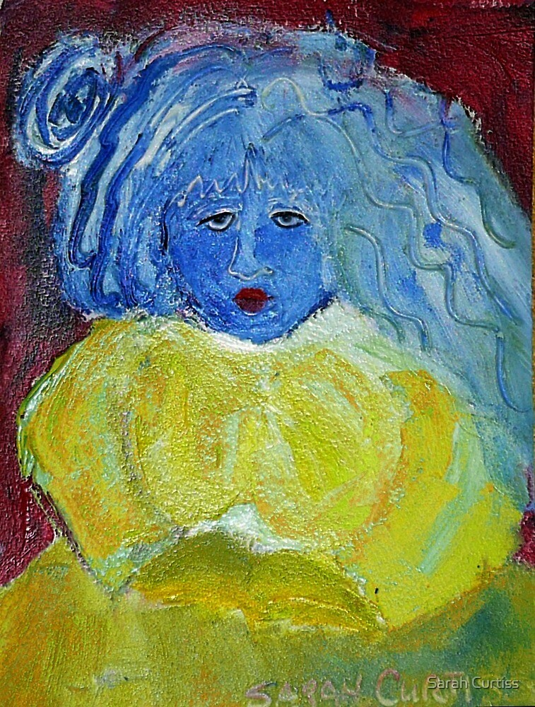 Blue, I am Blue, just as blue as I can be. by Sarah Curtiss