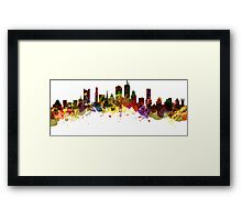 Boston USA Framed Print