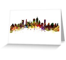 Boston USA Greeting Card