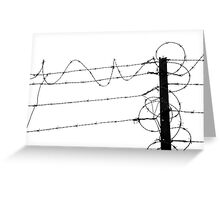Artistic Wire Greeting Card