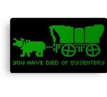 On the Oregon Trail Canvas Print