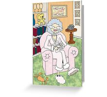 cancer woman Greeting Card