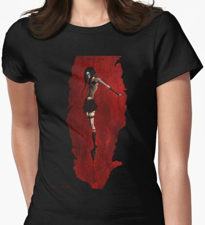 No Outlet Womens Fitted T-Shirt
